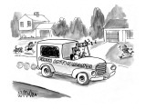 "Good Humor truck is selling ""Fresh Antioxidants"" instead of ice cream,. - New Yorker Cartoon Premium Giclee Print by Warren Miller"