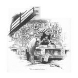"""Me no speaka da English."" - New Yorker Cartoon Premium Giclee Print by R. Van Buren"