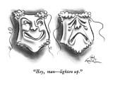 """Hey man—lighten up."" - New Yorker Cartoon Premium Giclee Print by Ed Fisher"
