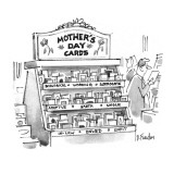 Mother's Day Cards are categorized in store as follows: Biological, Workin… - New Yorker Cartoon Premium Giclee Print by Dana Fradon