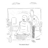 """I'm thinkin' blond."" - New Yorker Cartoon Premium Giclee Print by Robert Mankoff"