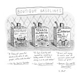 Boutique Gasolines - New Yorker Cartoon Premium Giclee Print by Roz Chast
