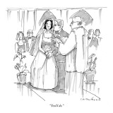 """You'll do."" - New Yorker Cartoon Premium Giclee Print by Michael Crawford"