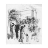 """""""But darling, this is a ship."""" - New Yorker Cartoon Premium Giclee Print by C.W. Anderson"""