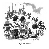 """I'm for the owners."" - New Yorker Cartoon Premium Giclee Print by Donald Reilly"