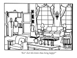 """See?  Isn't this better than being happy?"" - New Yorker Cartoon Premium Giclee Print by Bruce Eric Kaplan"