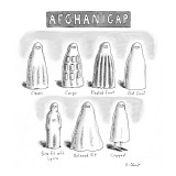AfghaniGap - New Yorker Cartoon Premium Giclee Print by Roz Chast