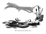 """We're canards on my mother's side."" - New Yorker Cartoon Premium Giclee Print by Donald Reilly"