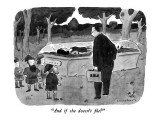 """And if she doesn't file?"" - New Yorker Cartoon Premium Giclee Print by Danny Shanahan"