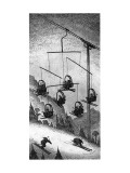 Ski-lift mobile. - New Yorker Cartoon Premium Giclee Print by John O&#39;brien