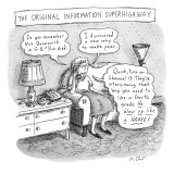 """The Original Information Superhighway"" - New Yorker Cartoon Premium Giclee Print by Roz Chast"