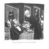 """May I inquire why there is no more Château Lafite?"" - New Yorker Cartoon Premium Giclee Print by Peter Arno"