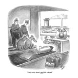 """Yeah, but it doesn't smell like a bomb!"" - New Yorker Cartoon Premium Giclee Print by Frank Cotham"