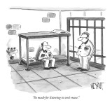 """So much for listening to one's muse."" - New Yorker Cartoon Premium Giclee Print by Christopher Weyant"
