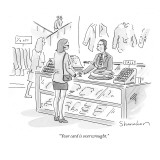 """Your card is overwrought."" - New Yorker Cartoon Premium Giclee Print by Danny Shanahan"