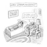 'George Gershwin, Psychiatrist' - New Yorker Cartoon Premium Giclee Print by Roz Chast