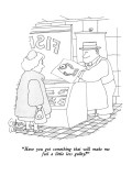 """""""Have you got something that will make me feel a little less guilty?"""" - New Yorker Cartoon Premium Giclee Print by Gahan Wilson"""