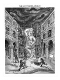 The Lost Michelangelo - New Yorker Cartoon Premium Giclee Print by Tom Hachtman