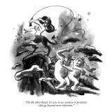 """On the other hand, it's nice to see women in positions that go beyond mer…"" - New Yorker Cartoon Premium Giclee Print by Lee Lorenz"