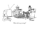 """Where did we go wrong?"" - New Yorker Cartoon Premium Giclee Print by Mischa Richter"