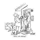 """We're still debating."" - New Yorker Cartoon Premium Giclee Print by Frank Modell"