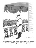 """My goodness, if I'd known how badly you wanted democracy I'd have given i…"" - New Yorker Cartoon Premium Giclee Print by J.B. Handelsman"