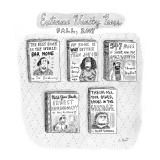 Books about how great the books are. - New Yorker Cartoon Premium Giclee Print by Roz Chast