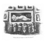 """""""How did you happen to find this place?"""" - New Yorker Cartoon Premium Giclee Print by Jr., Whitney Darrow"""
