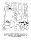 """Did you or did you not employ a leash to drag your cairn terrier, Jack, …"" - New Yorker Cartoon Premium Giclee Print by Gahan Wilson"