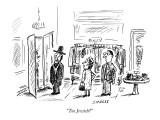 """Too Jewish?"" - New Yorker Cartoon Premium Giclee Print by David Sipress"