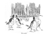 """Arm candy."" - New Yorker Cartoon Premium Giclee Print by Edward Frascino"