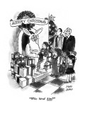 """Who hired him?"" - New Yorker Cartoon Premium Giclee Print by Joseph Farris"