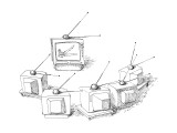 Televisions doing antenna exercises. - New Yorker Cartoon Premium Giclee Print by John O'brien