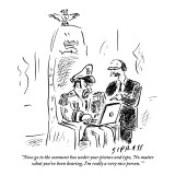 """""""Now go to the comment box under your picture and type, 'No matter what yo…"""" - New Yorker Cartoon Premium Giclee Print by David Sipress"""