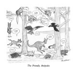The Friendly Antipodes - New Yorker Cartoon Premium Giclee Print by J.B. Handelsman