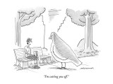 &quot;I&#39;m cutting you off.&quot; - New Yorker Cartoon Premium Giclee Print by Mick Stevens