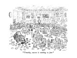 """Timothy, success is nothing to fear."" - New Yorker Cartoon Premium Giclee Print by Edward Koren"