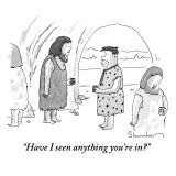 """""""Have I seen anything you're in?"""" - New Yorker Cartoon Premium Giclee Print by Danny Shanahan"""