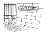 Your Debt to Society - New Yorker Cartoon Premium Giclee Print by Mick Stevens