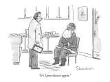 """It's Lyme disease again."" - New Yorker Cartoon Premium Giclee Print by Danny Shanahan"