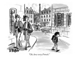"""Oh, how very French."" - New Yorker Cartoon Premium Giclee Print by Warren Miller"