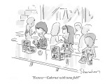 """Ewww—Cabernet with tuna fish?"" - New Yorker Cartoon Premium Giclee Print by Danny Shanahan"