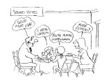 Sound Bites - New Yorker Cartoon Premium Giclee Print by Sidney Harris