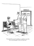 """I'm afraid there wasn't anything we could do to save him, but we did mana…"" - New Yorker Cartoon Premium Giclee Print by Tom Cheney"