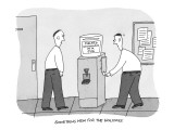 'Something New for the Holidays' - New Yorker Cartoon Premium Giclee Print by Peter C. Vey