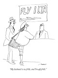 &quot;My husband is no-frills, and I&#39;m all-frills.&quot; - New Yorker Cartoon Premium Giclee Print by Al Ross