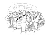 """O.K., Everybody.  Stand back! Let it breathe."" - New Yorker Cartoon Premium Giclee Print by John O'brien"