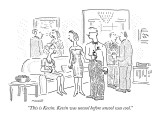 """This is Kevin. Kevin was uncool before uncool was cool."" - New Yorker Cartoon Premium Giclee Print by Robert Mankoff"