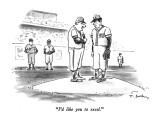 """I'd like you to excel."" - New Yorker Cartoon Premium Giclee Print by Mike Twohy"