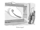 """Hi there, big guy!"" - New Yorker Cartoon Premium Giclee Print by Gahan Wilson"